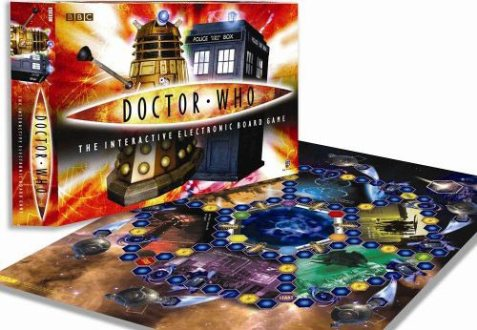 Interactive Board Game     Merchandise Guide   The Doctor Who Site Interactive Board Game
