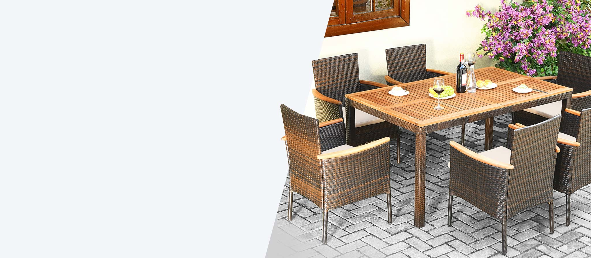patio sets dining conversation