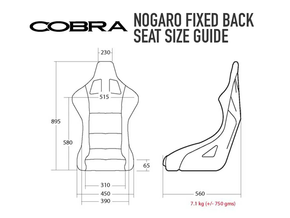 Buy Cobra Nogaro Circuit Seat