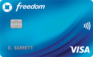 Chase Freedom 5% Categories