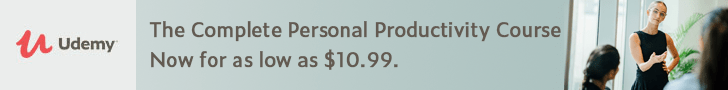 *The Complete Personal Productivity Course. Now for as low as $10.99. Your Personal Productivity Can Soar in Business and in Life. You Can Accomplish More!