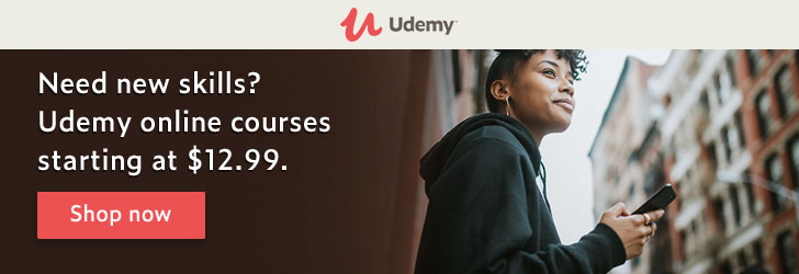 *From artificial intelligence to zombie apocalypse. Udemy online courses have it all. Starting at $12.99