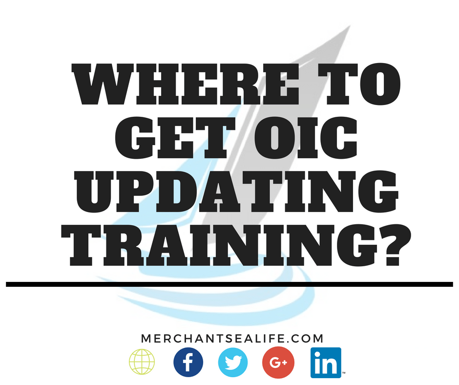 Updating training for oic navigational watch