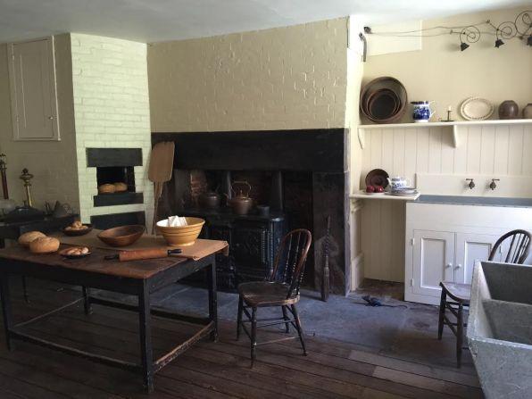 Period kitchen in 19th century home
