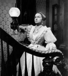 "Olivia de Havilland as Catherine Sloper in ""The Heiress"""