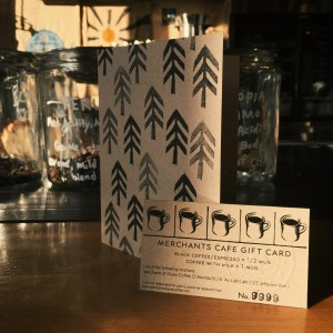 Merchants cafe gift cards