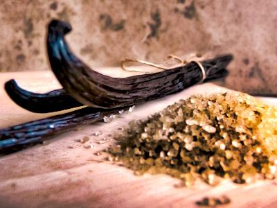 Vanilla Bean Seasoned Sugar from Merchant Spice Co.'s Seasoned Sugars Collection