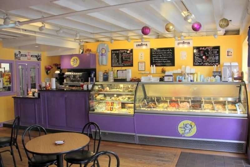 Gorgeous Gelato See Inside Ice Cream Parlor Portland