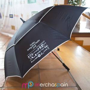 Paraguas de golf personalizado Swing de la Radio