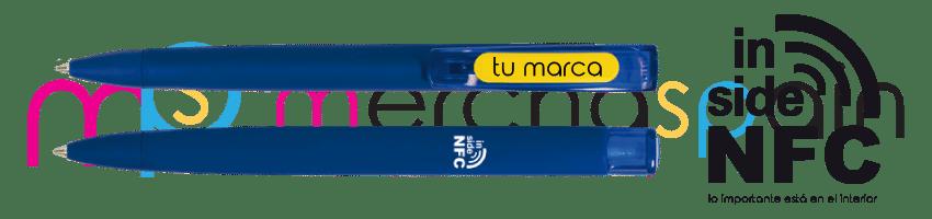 Bolígrafos publicitarios con tecnología NFC en Mallorca | Merchaspain, merchandising y regalos publicitarios