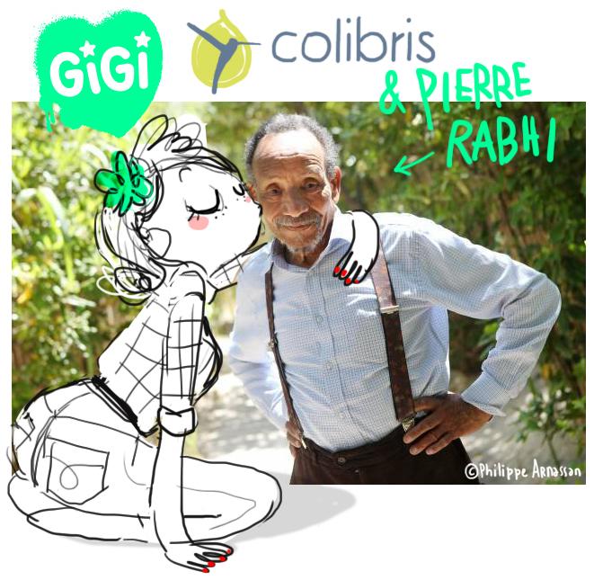 Pierre Rabhi et le mouvement Colibris