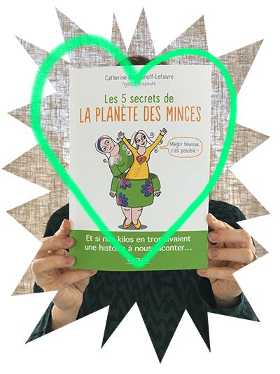Livre Les 5 secrets de la planète des minces