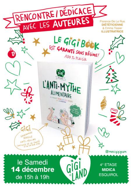 Dédicace Gigi book à Gigiland