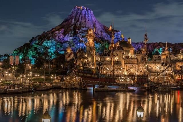 Volcan de DisneySea Tokyo