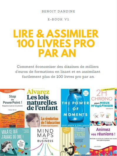 Ebook Benoit Dandine merci les cartes mentales