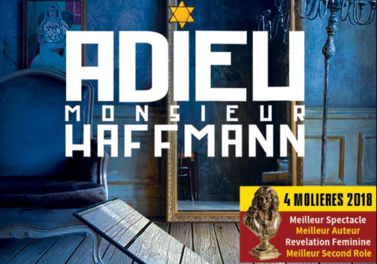 Théâtre - Adieu Monsieur Haffmann, 4 Molières en 2018 sera au TLF - MerciSF