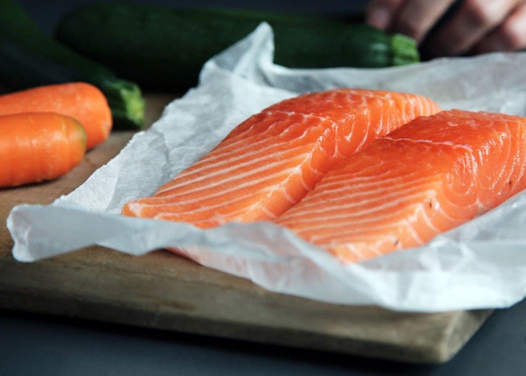 salmon has omega-3 fatty acids