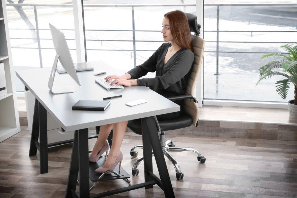 good posture at work