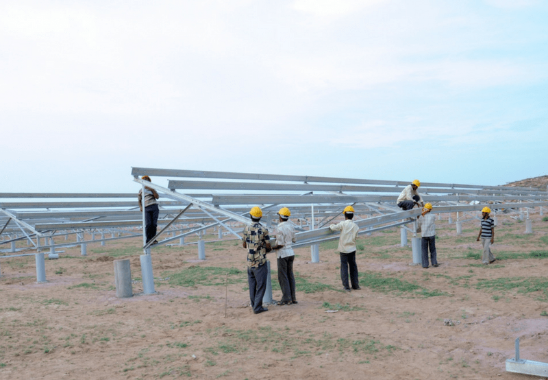 India Auctioned 2 GW of Solar Projects in August 2018