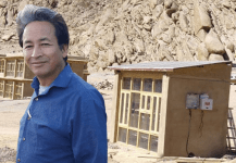 Visaka Industries and Sonam Wangchuk Launch Solar Battery House for Army in Ladakh