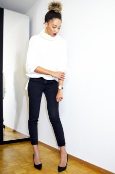 mercredie-blog-mode-geneve-escarpins-eden-python-la-redoute-pull-fashion-bunker-bun-slim3