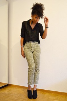 mercredie-blog-mode-look-lookbook-boots-wedges-newlook-pantalon-dolce-gabbana-leopard-chemise-only