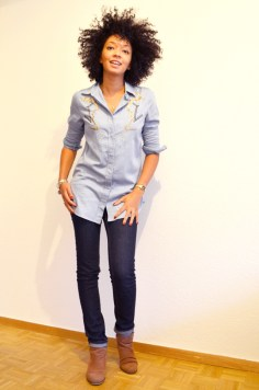 mercredie-blog-mode-look-lookbook-chemise-circus-co-sequins-jean-kookai-boots-primark