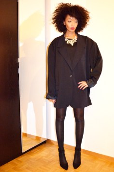 mercredie-blog-mode-martin-margiela-oversized-masculine-jacket-hm-zara-escarpins-nappy-hair-afro-3