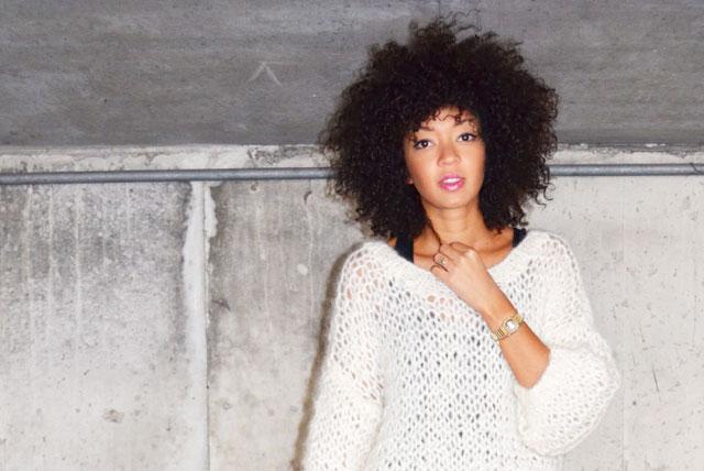 mercredie-blog-mode-pull-barnabe-mes-demoiselles-afro-hair-cheveux-boucles-frises