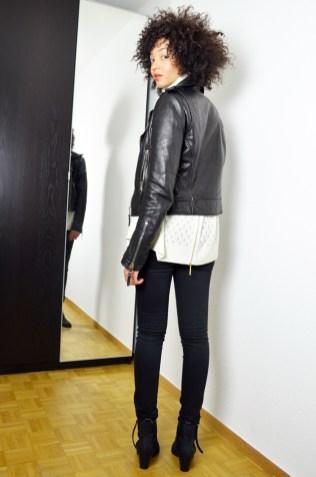 mercredie-blog-mode-suisse-geneve-perfecto-balenciaga-biker-leather-cuir-jacket-les-petites-col-roule-pull-afro-cheveux-frises-acne-pistol-boots