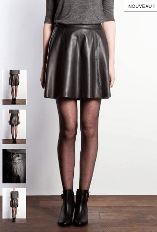 jupe-star-claudie-pierlot-mercredie-blog-mode-patineuse-leather-cuir-skater-skirt