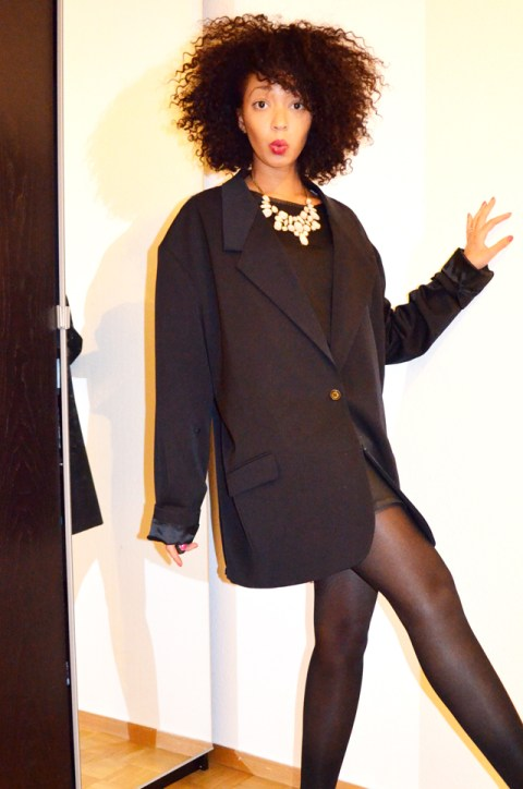 mercredie-blog-mode-martin-margiela-oversized-masculine-jacket-h&m-zara-escarpins-nappy-hair-afro--5