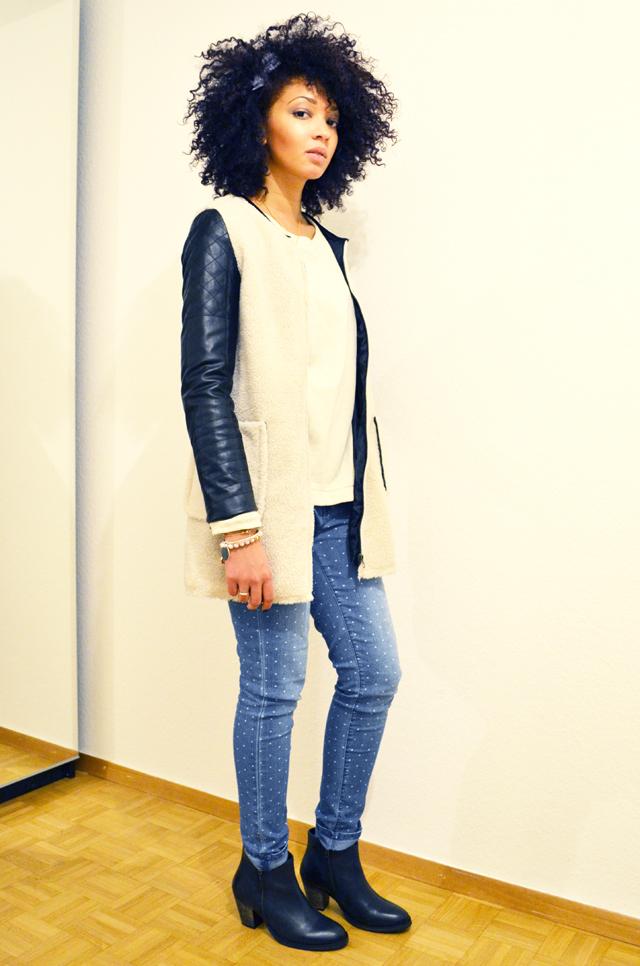 mercredie-blog-mode-beaute-jean-pois-forever21-zalando.ch-suisse-boots-zign-zip-pistol-acne-zara-manteau-cuir-bi-matieres