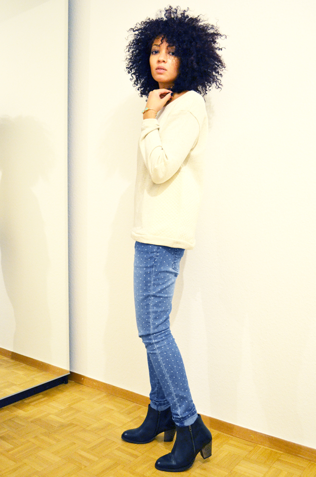 mercredie-blog-mode-beaute-jean-pois-forever21-zalando.ch-suisse-boots-zign-zip-pistol-acne-zara2