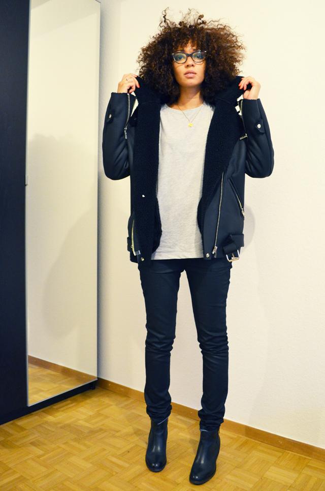 mercredie-blog-mode-geneve-suisse-lunettes-rayban-easylunettes-5226-cateye-jacket-acne-shearling-ersatz-stylenanda-afro-hair-cheveux-frises-nappy-jean-etam-zip-boots-pistol-acne-zign-2