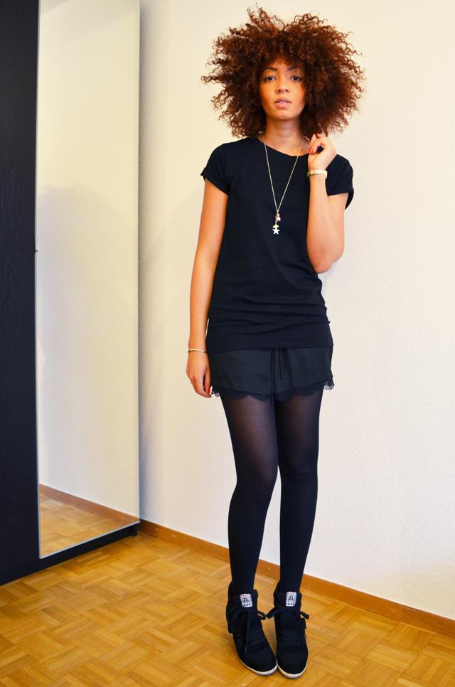 mercredie-blog-mode-beaute-bijoux-concours-collier-les-biches-short-zara-tshirt-boyfriend-asos-ash-bowie-black-afro