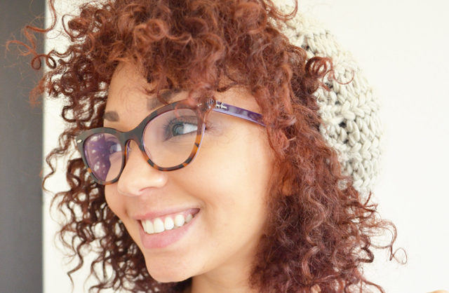 mercredie-blog-mode-robe-h&m-afro-hair-cheveux-nappy-rayban-cateye-5226-red-cherry-cerise-rouge-olia