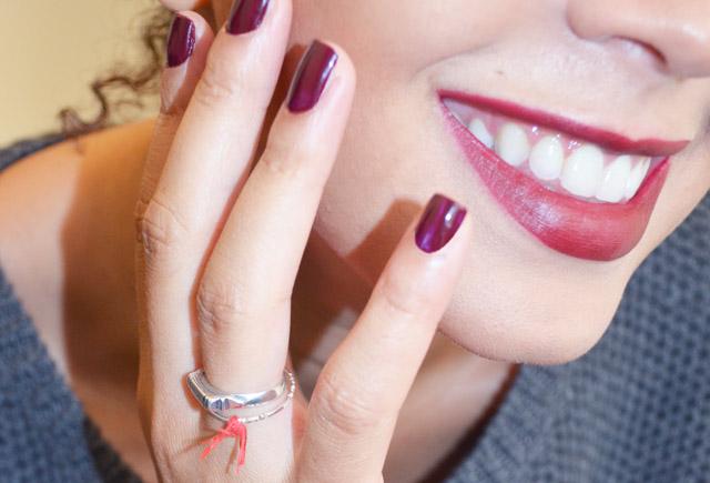 mercredie-blog-mode-beaute-mac-lipstick-rouge-levres-diva-fonce-contouring-smile-bague-so-capristi-argent