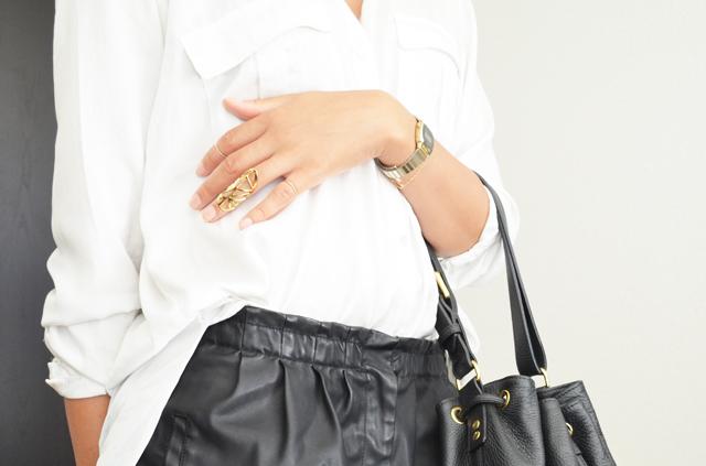 mercredie-blog-mode-geneve-suisse-chemise-blanche-short-cuir-h&m-bague-phalange-rita-zia