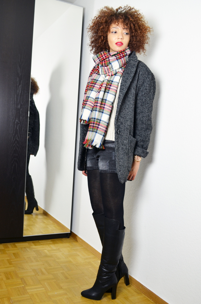 mercredie-blog-mode-geneve-h&m-echarpe-tartan-manteau-boyfriend-kate-moss