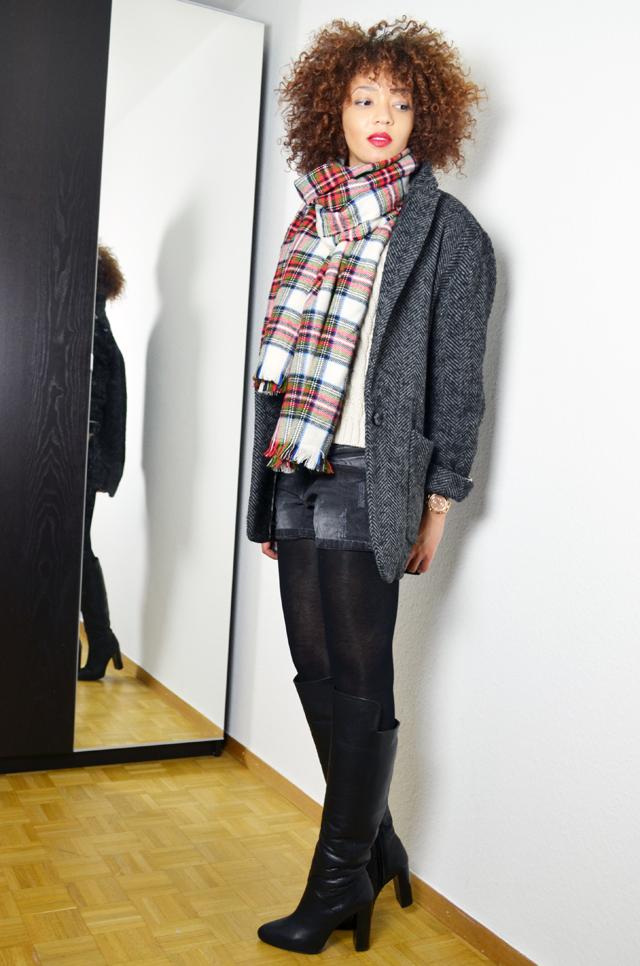 mercredie-blog-mode-geneve-h&m-echarpe-tartan-manteau-boyfriend-kate-moss