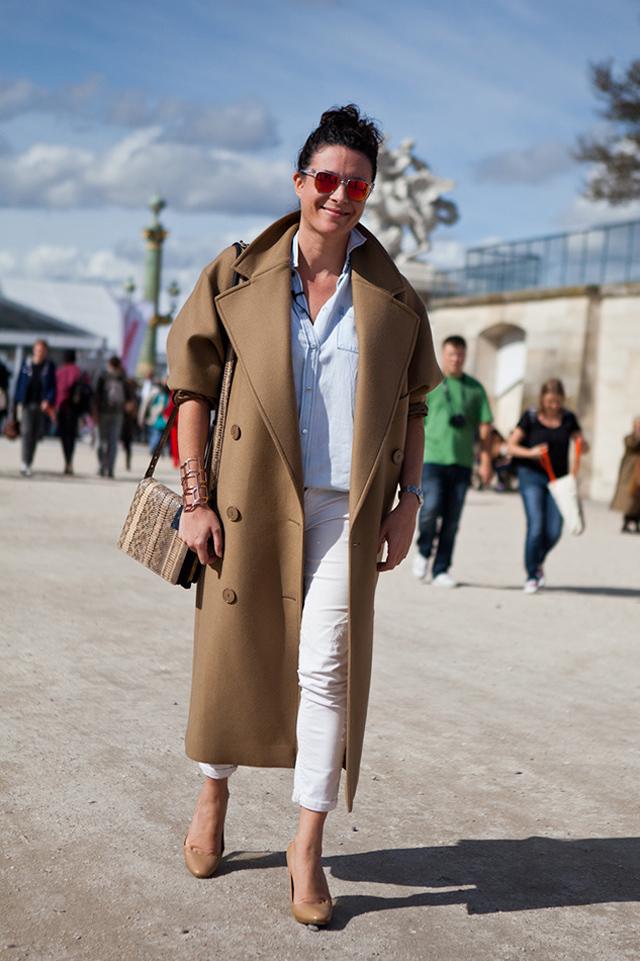Le manteau camel MODASIC