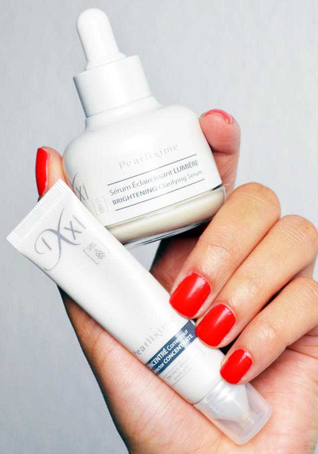 mercredie-blog-beaute-geneve-suisse-avis-test-ixxi-cosmetiques-skincare-pearlixime-soin-elixir-eclaircissant-lumiere-brightening-serum-concentre-correcteur-taches-pigmentaires-pigmentation