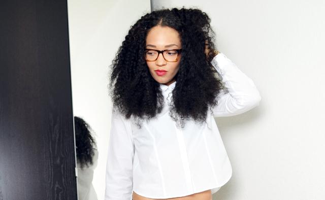 mercredie-blog-mode-geneve-fashion-blog-geneva-suisse-switzerland-lunettes-firmoo-avis-chemise-courte-blanche-zara-kurly-klips-cheveux-afro-my-spirals