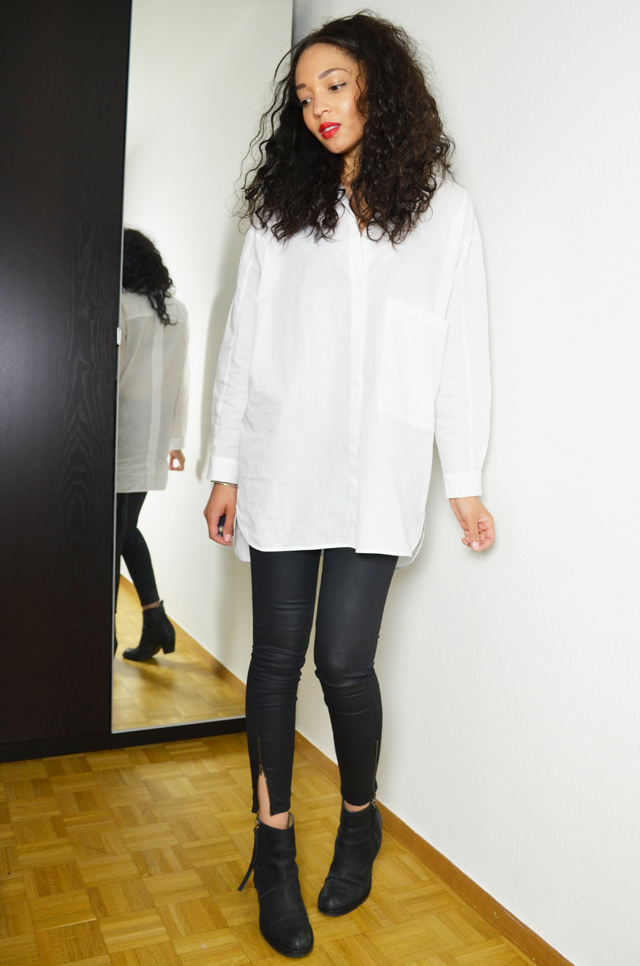 mercredie-blog-mode-geneve-suisse-chemise-blanche-oversized-white-shirt-look-outfit-inspiration-zara-slim-enduit-h&m-boots-acne-pistol