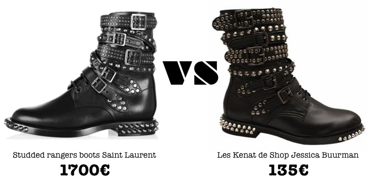 mercredie-blog-mode-shopping-boots-ersatz-dupe-saint-laurent-studded-rangers-kenat-jessica-buurman