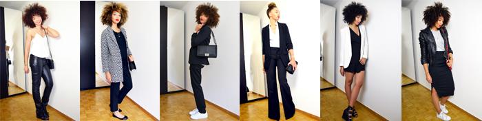 tenues black&white