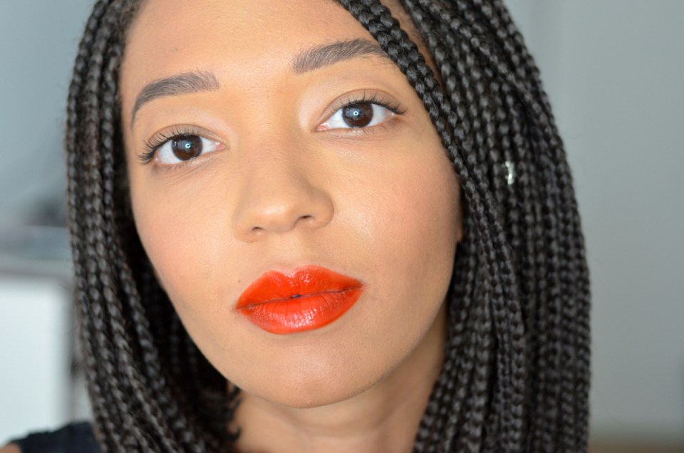mercredie-blog-mode-geneve-beauty-blogger-suisse-switzerland-loreal-paris-lip-paint-lipstick-matte-lacquer-nude-red-lips-swatches-review-test-203-tangerine-vertigo
