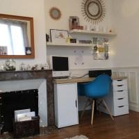 Déco: nouveau bureau