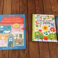 Deux cahiers d'activités aux éditions Usborne